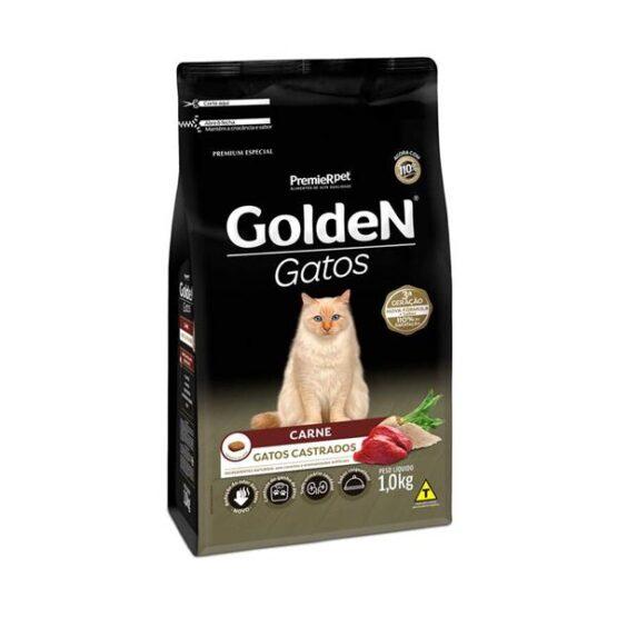 Ração Golden Gatos Castrados – CARNE
