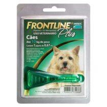 Antipulgas e Carrapatos Frontline Plus para Cães de até 10kg-1873618324