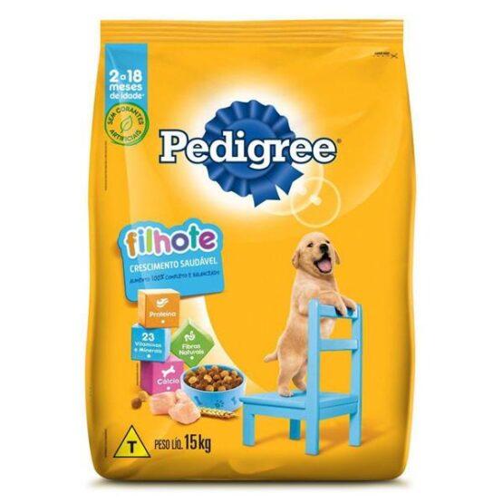 Ração Pedigree para Cães Filhotes Raças Médias e Grandes 15 Kg