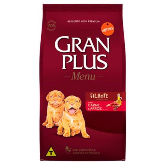Gran Plus MENU Filhotes Carne e Arroz 15KG