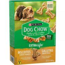 Biscoito Dog Chow Mini para Cães de Raças Pequenas Sabor Frango 500g-829759022