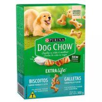 Biscoito Dog Chow para Cães Filhotes Sabor Frango e Leite - 300g-1554060321