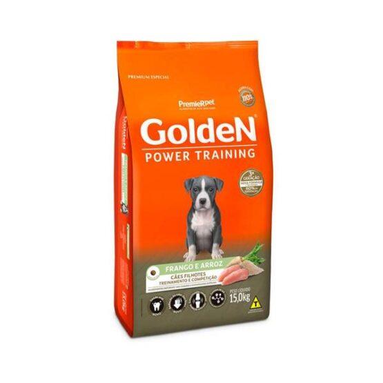 Golden Power Training Filhote para Cães Sabor Frango e Arroz – 15kg