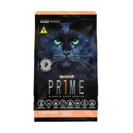 Ração Special Cat PRIME p/ Gatos Castrados – SALMÃO