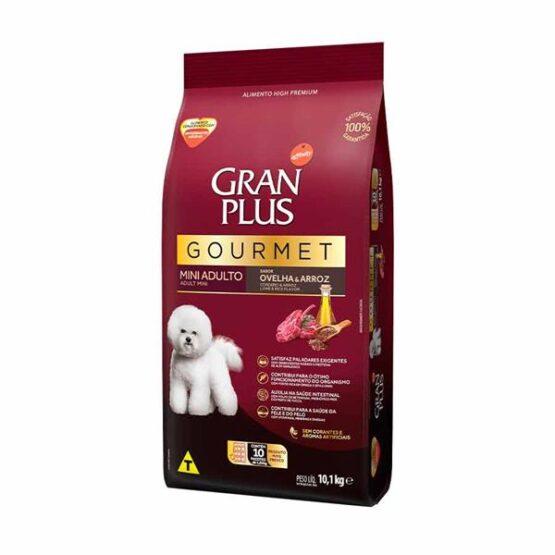 Ração Gran Plus Gourmet para Cães Adultos de Porte Mini Sabor Ovelha