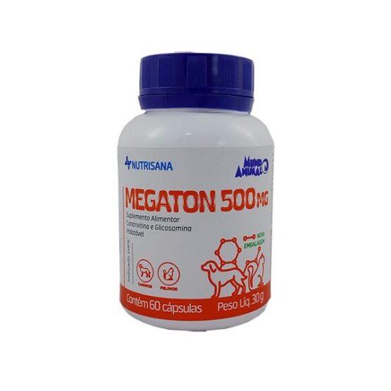 Suplemento Nutrisana Megaton para Cães e Gatos 60 Cápsulas