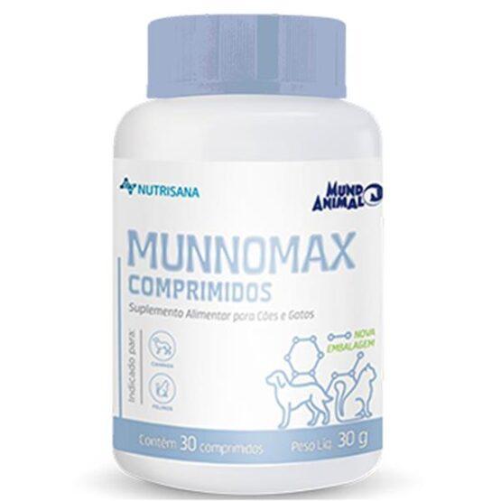 Suplemento Nutrisana Munnomax para Cães e Gatos 30 Comprimidos 45g
