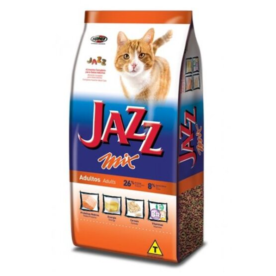 Ração para Gatos Adultos Jazz MIX