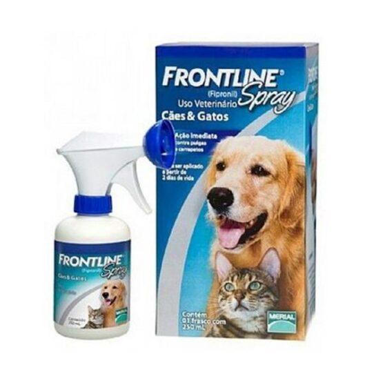 Frontline Spray 250 mL para Cães e Gatos