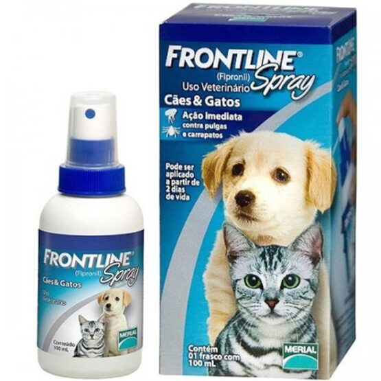 Frontline Spray para Cães e Gatos – 100ml