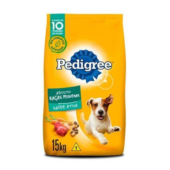 Ração Pedigree Para Cães Adultos Raças Pequenas 15 Kg