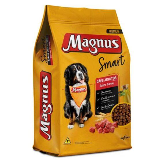 Magnus Smart Cães Adultos Carne 20kg