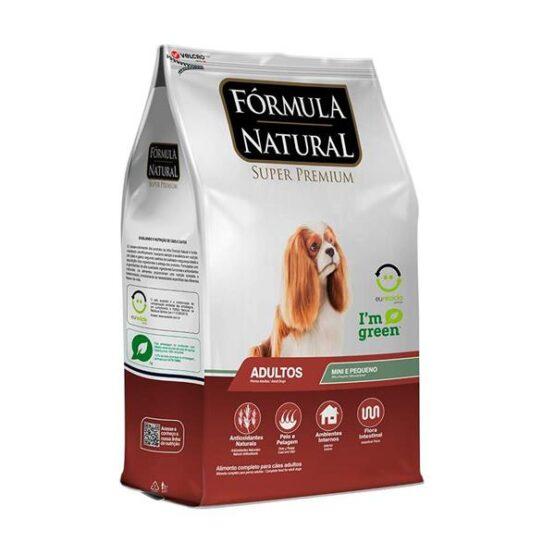 Ração Fórmula Natural para Cães Adultos Raças Mini 7kg