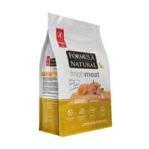 Ração Fórmula Natural FreshMeat para Gatos Adultos Castrados Sabor Salmão 7kg-1852919577