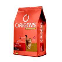 Ração Origens para Gatos Adultos sabor Carne 10,1Kg-1478576555