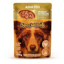Ração Úmida Special Dog Sachê para Cães Adultos Sabor Frango 100g-829756405