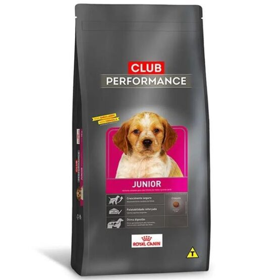 Ração Royal Canin Club Performance Junior Cães Filhotes 15Kg