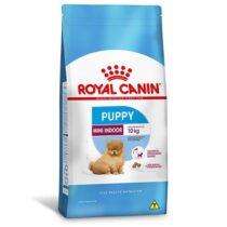 Ração Royal Canin Mini Indoor - Cães Filhotes 1Kg-1674053393