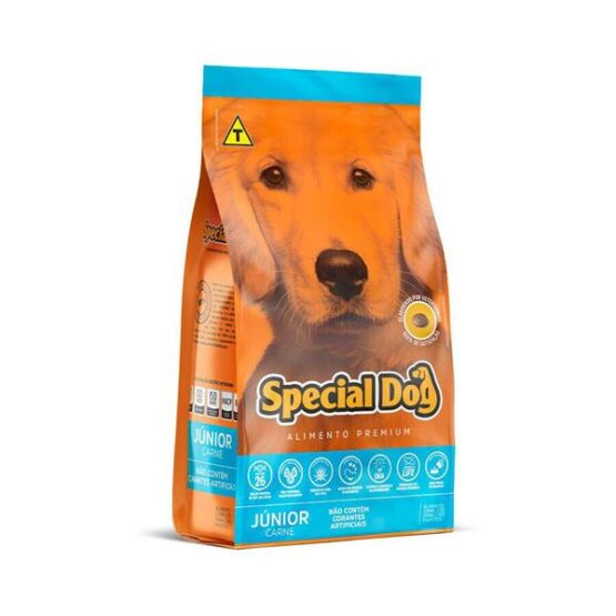 Ração Special Dog Junior para cães filhotes – 10,1 Kg
