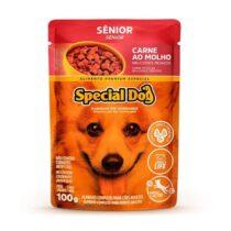 Ração Úmida Special Dog Sachê para Cães Sênior Sabor Carne 100g-1103199442