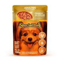 Ração Úmida Special Dog Sachê para Cães Adultos Raças Pequenas Sabor Frango 100g-1524730731