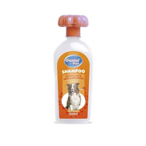 Shampoo Genial Pet Anti-Pulgas – 500ml