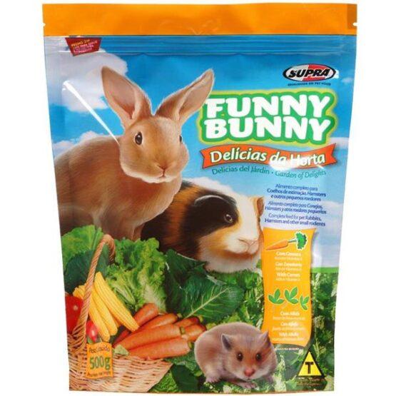 Ração Funny Bunny Delícias da Horta 500g