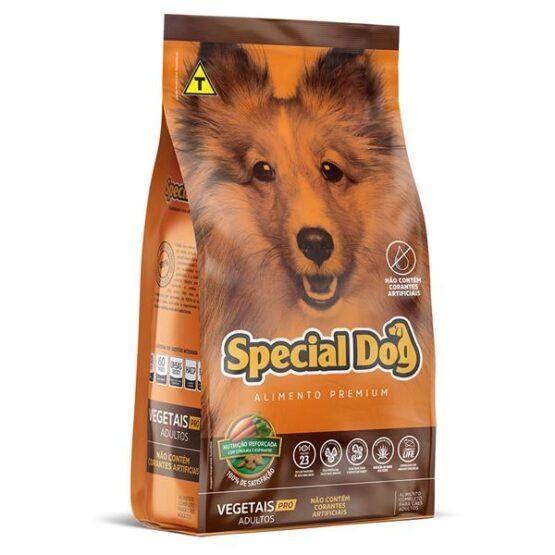Ração para Cães Adultos Special Dog Vegetais PRO