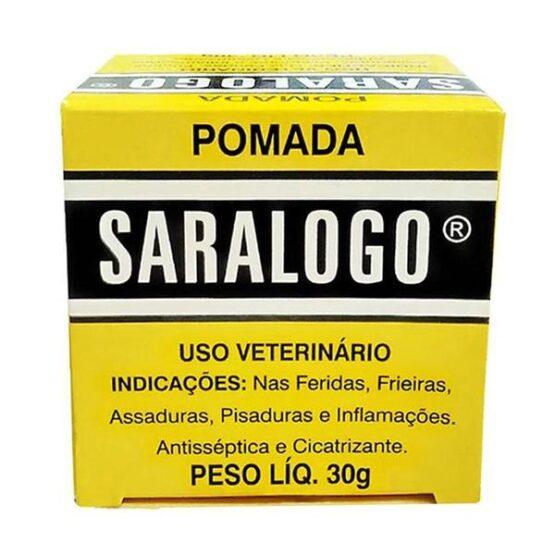 Pomada Cicatrizante Matacura Saralogo para Cães