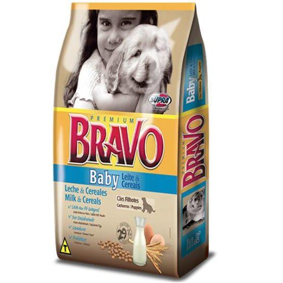 Ração para Cães Filhotes BRAVO BABY – 20kg