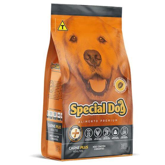 Ração para Cães Adultos Special Dog PLUS carne