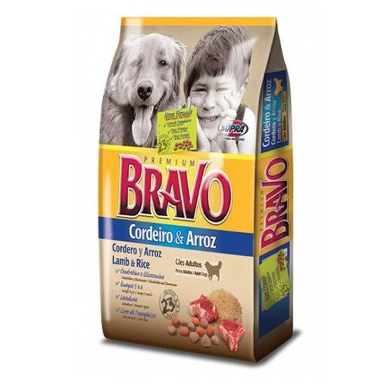 Ração para Cães BRAVO Cordeiro e Arroz – 15kg