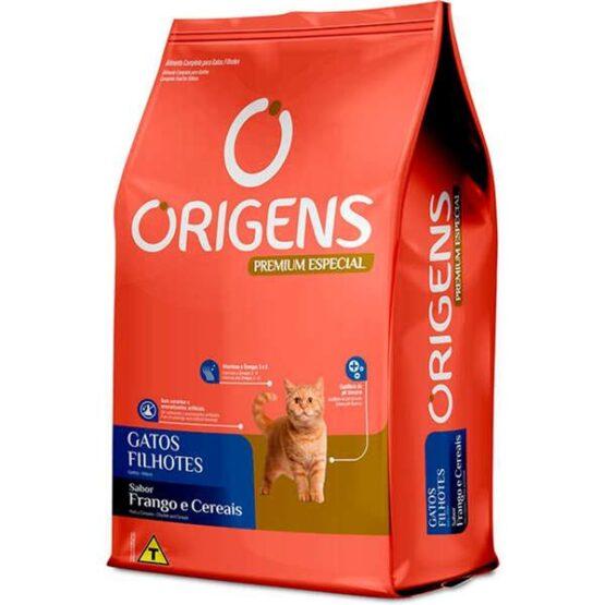 Ração Origens para Gatos Filhotes sabor Frango – 1kg