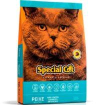 Ração Special Cat Premium Peixe para Gatos Adultos - 20kg-999077241