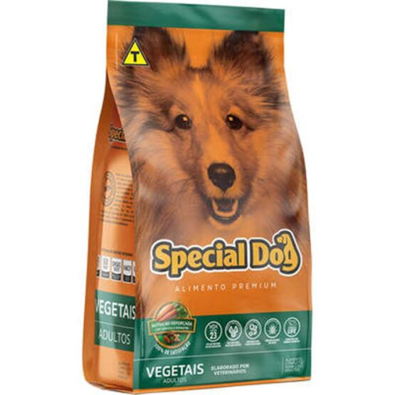 Ração Special Dog Premium Vegetais para Cães Adultos – 20kg