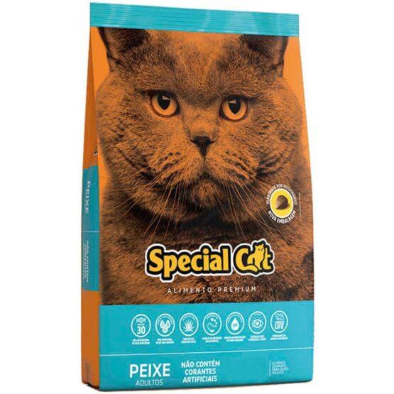 Ração Special Cat peixe Premium para Gatos adultos 10,1