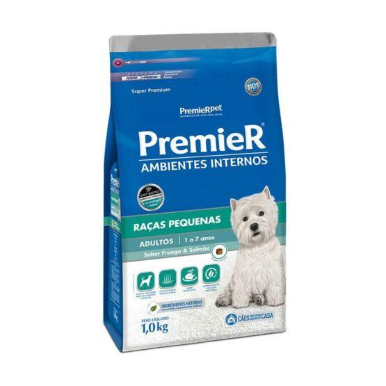 Ração Premier para Cães Adultos Sabor Frango e Salmão 1kg