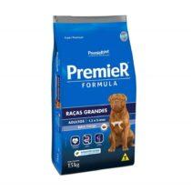 Ração Premier para Cães Adultos de Raças Grandes Sabor frango 15kg-1208543858